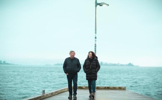 BLE SKILT: - Det er klart at et ekteskap settes på prøve når en slik hendelse inntreffer i familien, sier foreldrene Geir og Torill Fossen til KK. FOTO: Astrid Waller