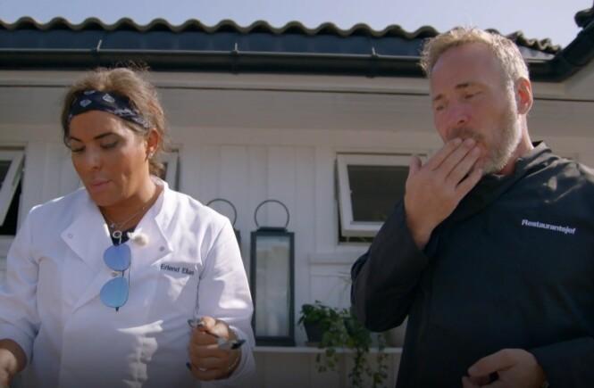 <strong>ALKOHOL:</strong> Andreassen reagerte på alkoholsmaken i desserten. Foto: TV3