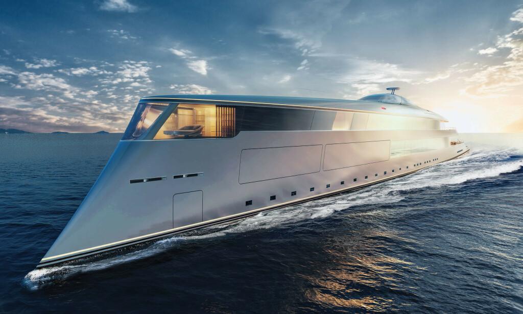 IKKE KJØPT AV GATES: Aqua-yachten til seks milliarder er ikke kjøpt av Bill Gates likevel, melder BBC. Det er selskapet bak som avviser salget. Foto: Sinot