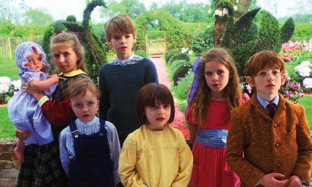 DØDSFALL: «Nanny McPhee»-skuespillerne i 2005. Raphael Coleman, som spilte rollen som Eric Brown, er her avbildet nederst til høyre. Foto: NTB scanpix
