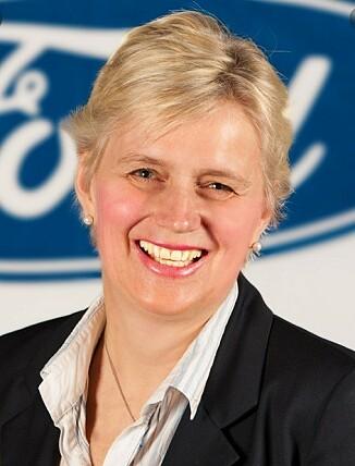 STOR INTERESSE: - Da vi tok med Mach-E til åtte forhandlere i de store byene, dukket det opp 7.000 interesserte, forteller informasjonssjef Anne Sønsteby i Ford Motor Norge. Foto: Ford