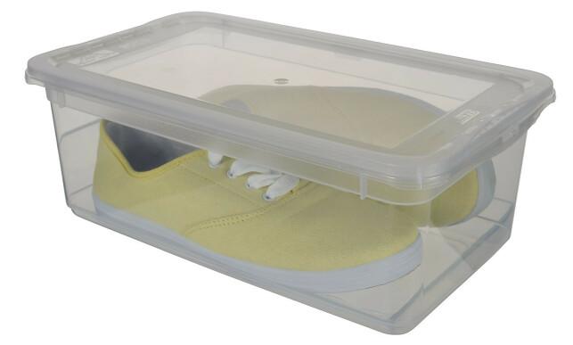 MED VENTILASJON: Smart skooppbevaring med ventilasjon.