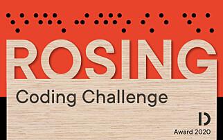 Rosing Coding Challenge blir en del av Rosing-prisene til Dataforeningen. 📸: Dataforeningen
