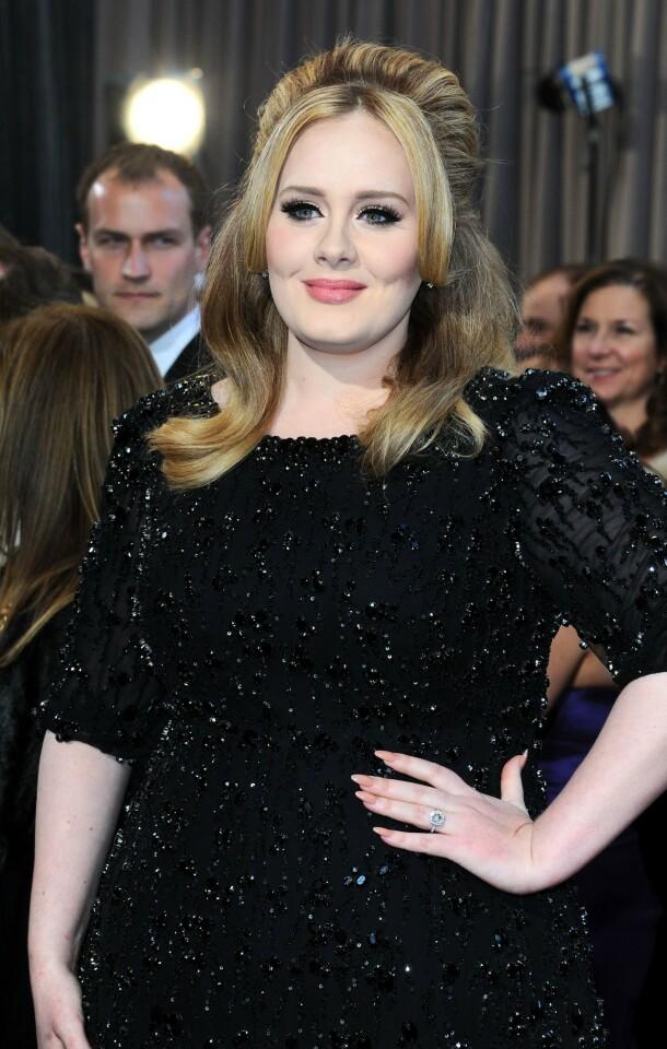 <strong>DEN GANG DA:</strong> Adele Adkins fotografert på Oscar-utdelingen i 2013. Foto: Stewart Cook/ REX/ NTB scanpix