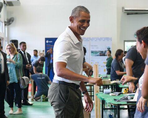 image: Dette bildet av Obama setter fyr på nettet