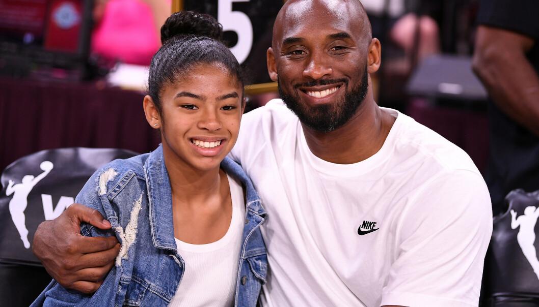 <strong>STEDT TIL HVILE:</strong> Kobe og Gianna Bryant ble gravlagt før helgen - i all hemmelighet. Foto: NTB scanpix
