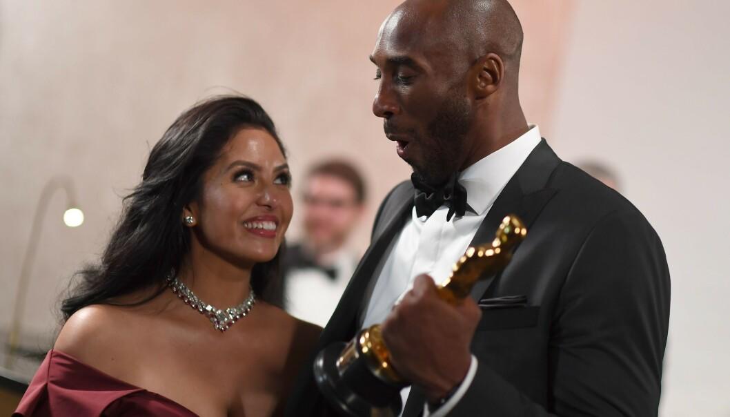 <strong>I SORG:</strong> Kobe Bryants kone, Vanessa, er i dyp sorg etter basketballikonets bortgang. Foto: NTB scanpix