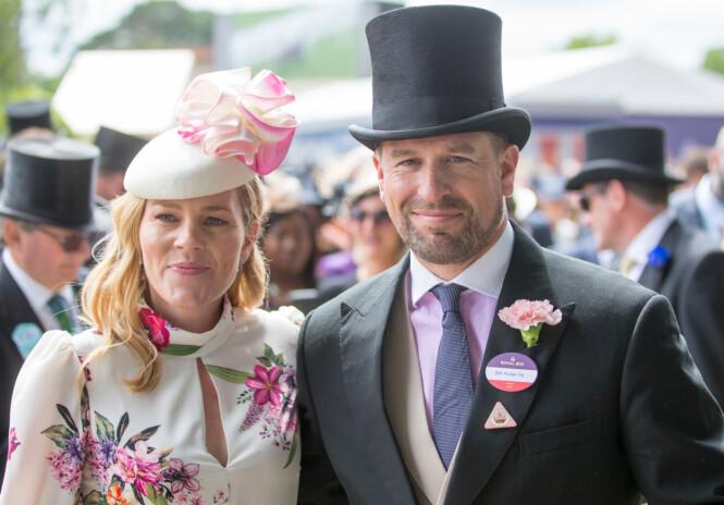 SKILLES: Peter Phillips og Autumn Phillips skilles etter 12 års ekteskap. Foto: NTB scanpix