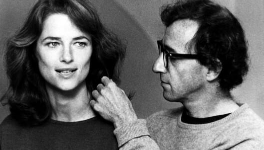 CHARLOTTE OG WOODY: I 1980 spilte Charlotte mot Woody Allen i hans film «Stardust Memories». (Foto: NTB Scanpix)
