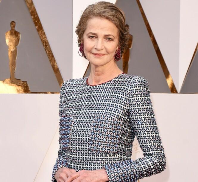 NESTEN OSCAR: Hun høstet priser og nominasjoner i fleng for rollen i filmen «45 år» fra 2015. Her fra Oscar-utdelingen der hun var nominert til, men ikke vant, prisen som beste kvinnelige skuespiller. (Foto: NTB Scanpix)
