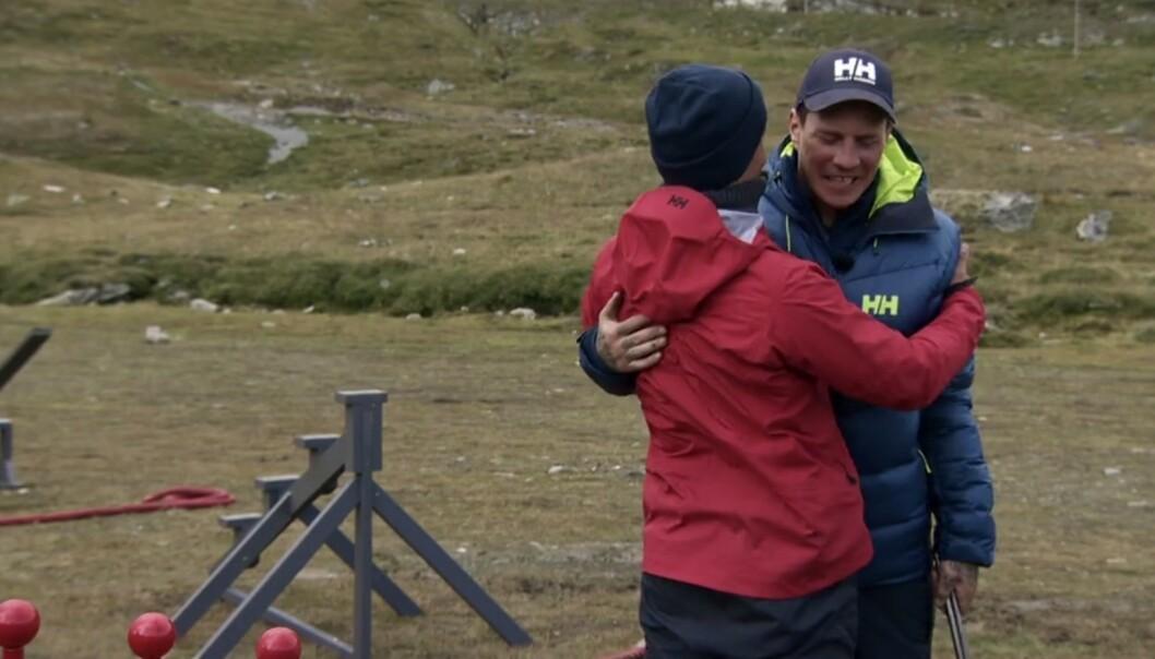 <strong>MÅTTE UT:</strong> Det ble følsomt da Pål Tøien måtte forlate konkurransen torsdag kveld. Foto: Discovery