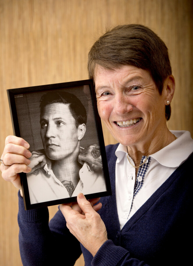 <strong>- DIGGET DET:</strong> Artistens mor, Tove Tøien, døde i fjor, 66 år gammel. Artisten tror at hun ville vært stolt av ham. Dette bildet ble tatt i en tidligere forbindelse. Foto: Torbjørn Olsen / Aller Media