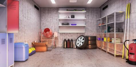 image: Slik rydder du garasjen