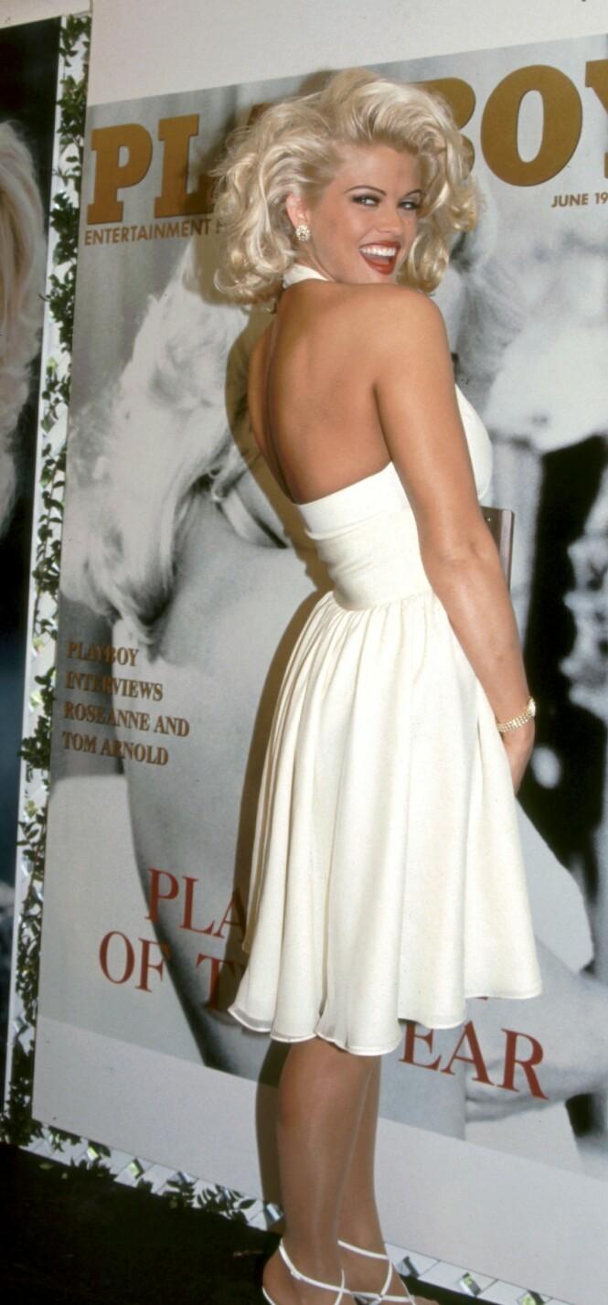 <strong>IKONISK:</strong> Likheten med Marilyn Monroe var slående, noe Playboy visste å spille på. FOTO: NTBScanpix