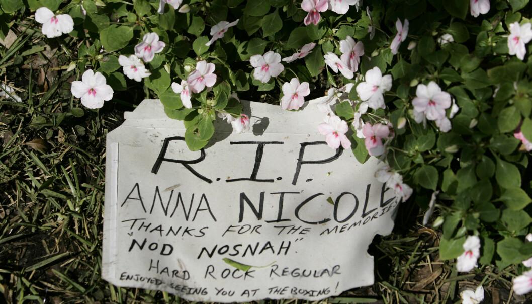 <strong>SISTE HILSEN:</strong> «Takk for minnene», skrev fansen da det ble kjent at modellen og skuespilleren var død. FOTO: NTBScanpix.