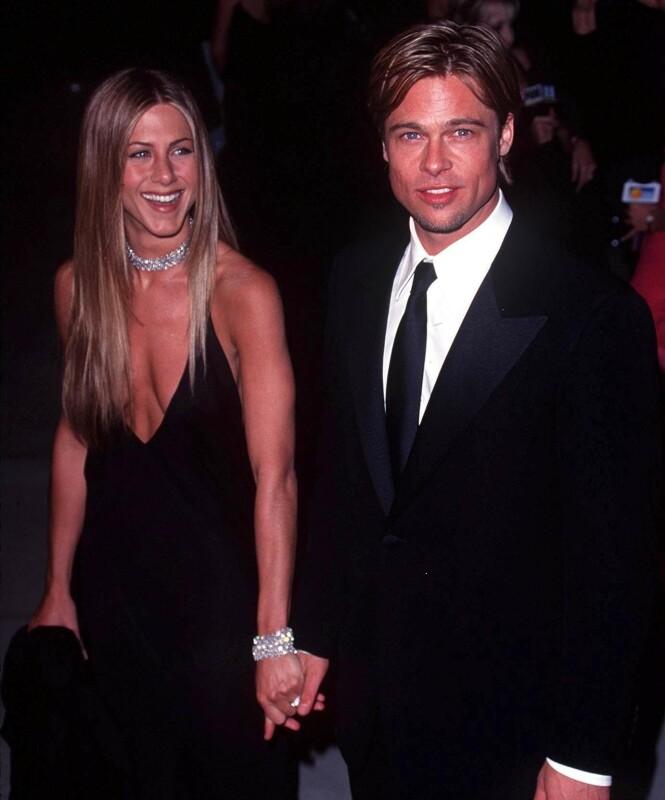 <strong>GJENFORENING?:</strong> Hvis Jennifer Aniston skal gjenopplive kjærligheten med Brad Pitt må hun angivelig kutte ut alkoholen. Foto: NTB scanpix