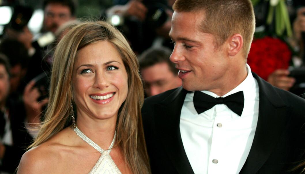 <strong>MÅ ENDRE LIVSSTILEN:</strong> Jennifer Aniston må angivelig kutte ut alkohol for å ha en sjanse til å gjenopplive forholdet sitt til Brad Pitt. Foto: NTB scanpix