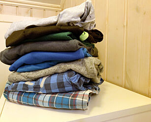image: Enkelt triks gir bedre plass til klærne