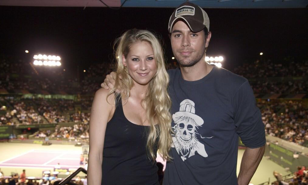 BABYLYKKE: Enrique Iglesias og Anna Kournikova er blitt foreldre for tredje gang. Foto: NTB Scanpix