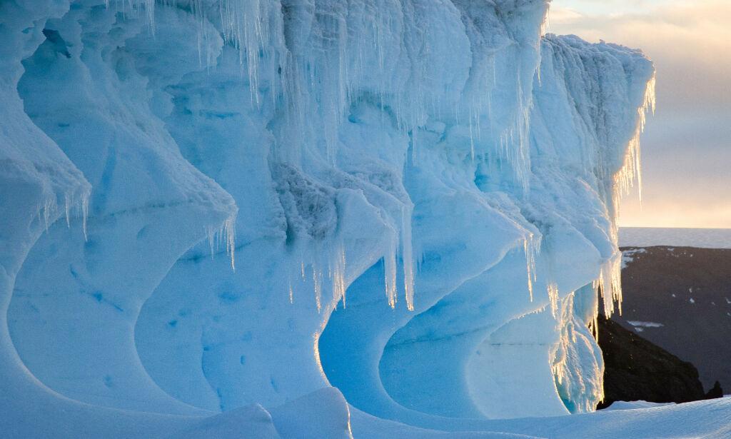 image: Rekordtemperatur i Antarktis sjokkerer
