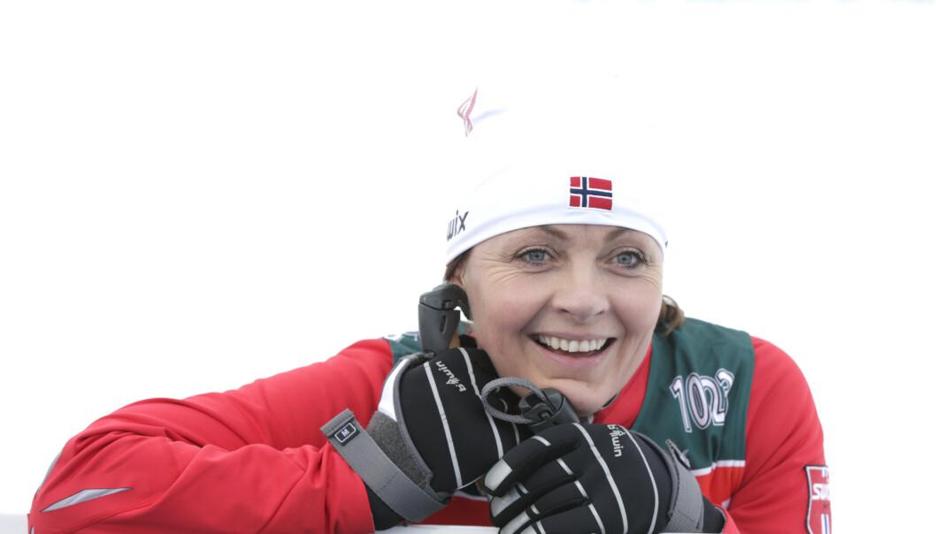 HURRA: Tidligere skiskytter Liv Grete Skjelbreid avslører i dag at hun har funnet kjærligheten - nesten sju år etter skilsmissen fra Raphaël Poirée. Foto: NTB scanpix