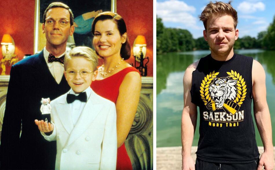 HOLLYWOOD: Jonathan Lipnicki var ni år da han fikk rollen i Stuart Little-filmen fra 1999. Han spilte mot Geena Davis og Hugh Laurie. I år fyller han 30 år. FOTO: NTB scanpix / Instagram