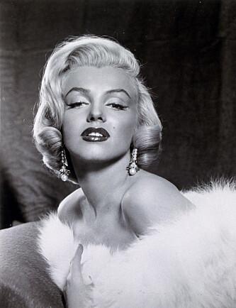 OFTE I PELS: Ikonet Marilyn Monroe. Foto: NTB Scanpix