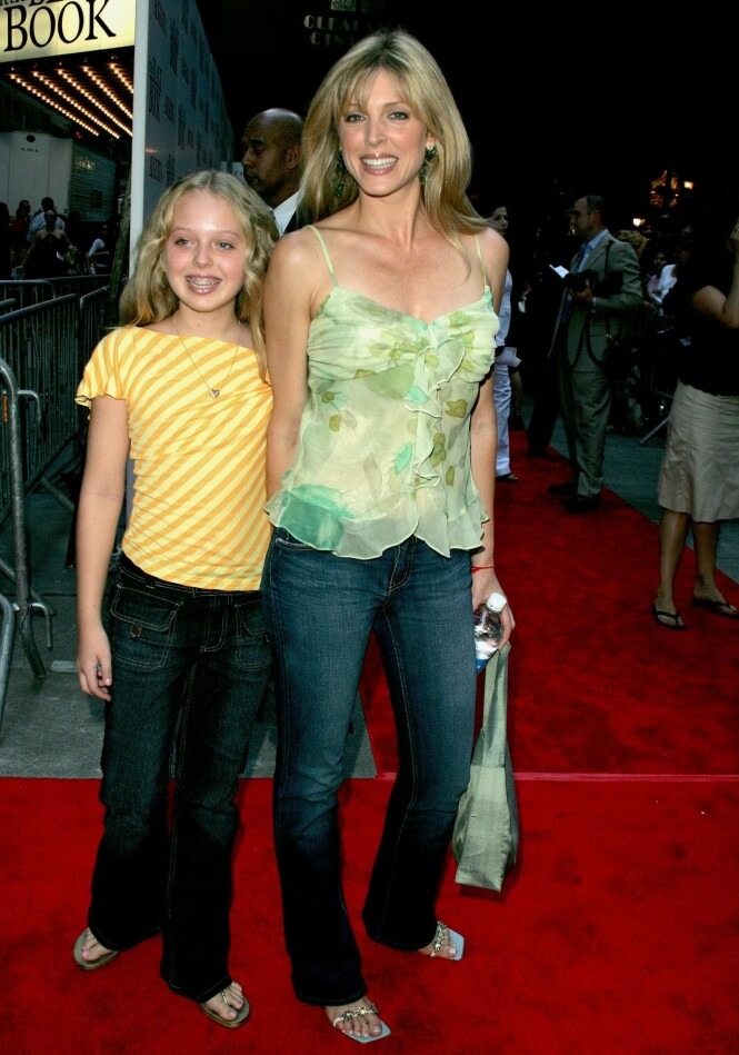 <strong>MED MAMMA:</strong> Tiffany Trump vokste primært opp sammen med sin mor, Marla Maples. Her er de fotografert sammen i 2004. Foto: NTB scanpix