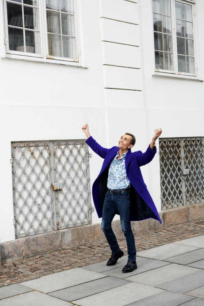 – Det grunnleggende for å kunne leve et spennende og interessant liv med nye opplevelser er god helse, sier Ole. FOTO: Robin Skjoldborg