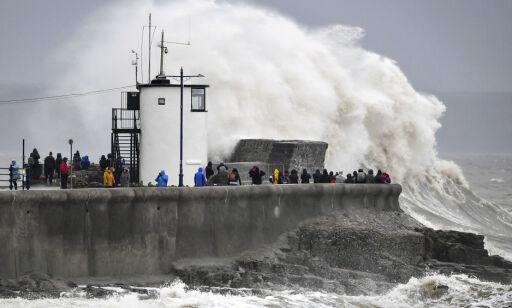 image: Uvær skaper mer kaos i Storbritannia