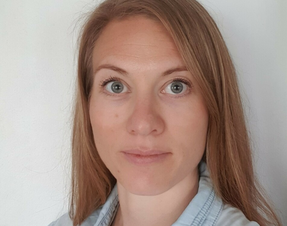 ANGST: Marit Morch Olsen Marit startet en instagramkonto om angst og humor for å bidra til å normalisere holdninger til angst og psykiske lidelser. FOTO: Privat