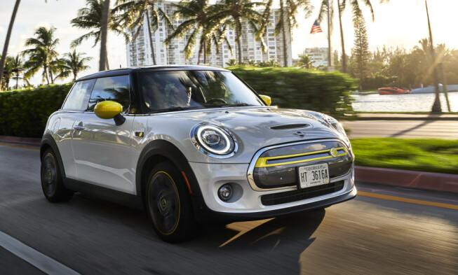 LETT GJENKJENNELIG: De gul-grønne detaljene avslører lett om du kjører elektrisk.