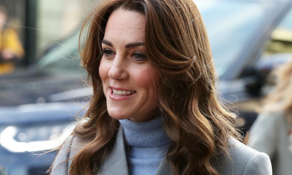 HYPNOFØDSEL: Hertuginne Kate benyttet seg av hypnoseteknikker under fødselen av prins Louis i 2018. Foto: NTB scanpix