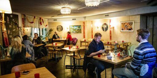 image: Snakkis-restaurant skuffer: - Må bli rausere