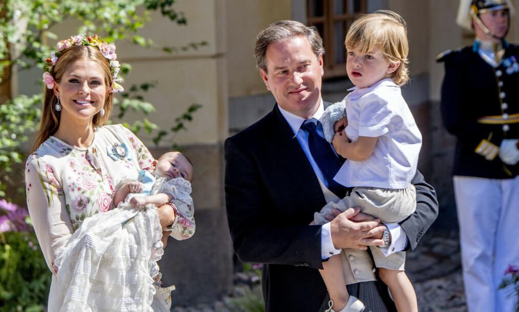 PÅ FLYTTEFOT: Det skal ha vært en helt spesiell grunn til at prinsesse Madeleine og resten av familien ikke lenger ønsket å bo i villaen i Miami. Foto: NTB Scanpix
