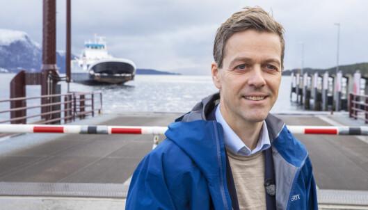 <strong>BEKYMRET:</strong> Samferdselsminister Knut Arild Hareide (KrF) er bekymret dagens nyhet om Widerøe-kuttene. Foto: Ole Berg-Rusten / NTB scanpix