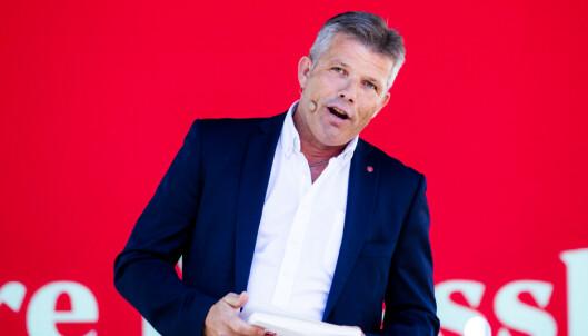 <strong>REGJERINGENS SKYLD:</strong> Ap-nestleder Bjørnar Skjæran mener regjeringes avgiftspolitikk er grunnen til nedleggelsene. Foto: Håkon Mosvold Larsen / NTB scanpix