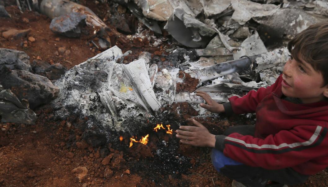 Bombene faller og barn fryser i hjel: – Dette er helvetet