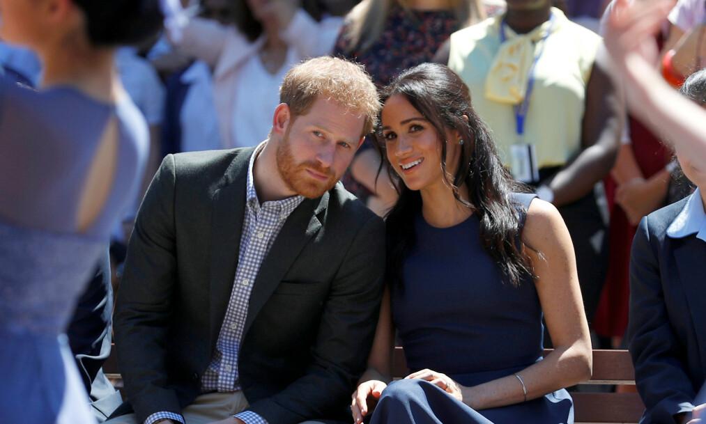 <strong>UTNYTTER:</strong> Piers Morgan mener prins Harry og hertuginne Meghan utnytter prinsesse Dianas død - og tjener millioner på det. Foto: NTB scanpix