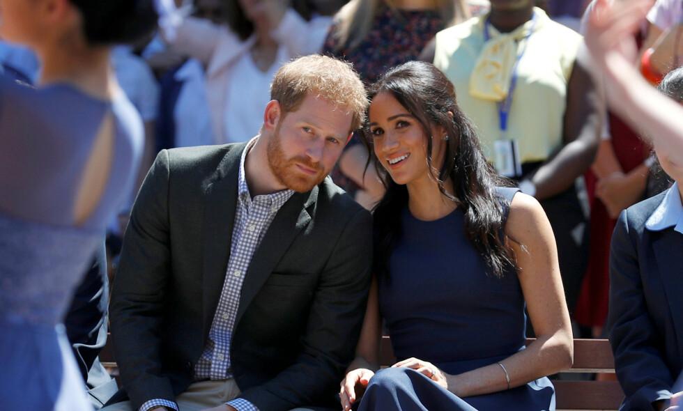UTNYTTER: Piers Morgan mener prins Harry og hertuginne Meghan utnytter prinsesse Dianas død - og tjener millioner på det. Foto: NTB scanpix