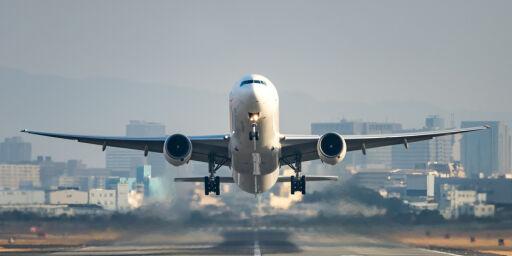 image: Spår prishopp på flyreiser
