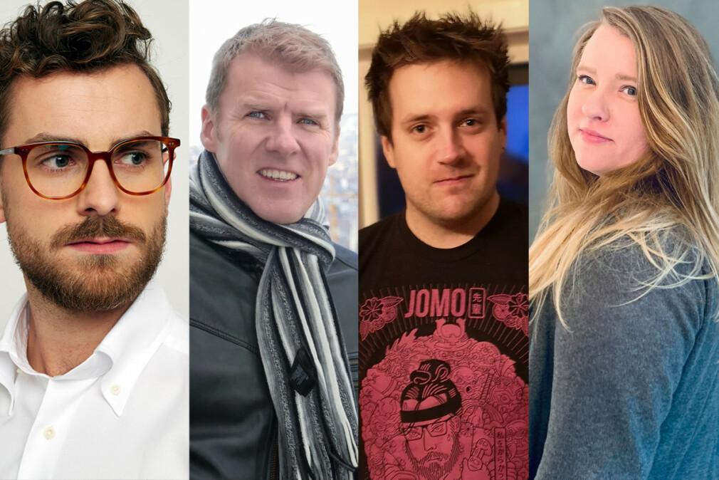 Torleif Halseth, Kjetil Salomonsen, Roy Jenssen og Lene Whiteley starter i Stacc. 📸: Privat