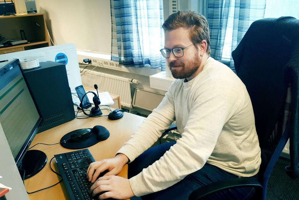 Truls Moe er senioutvikler hos Cebyc AS i Trondheim. Kodeinteressen starta i The Games Factory. 📸: Privat