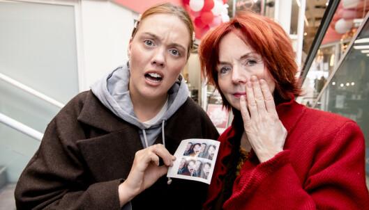 Skal vi bruke dette i vårt felles pass? Foto: Lars Eivind Bones/Dagbladet