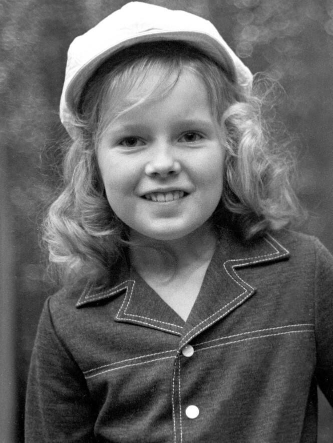 STJERNE: Allerede da hun var sju år utmerket Anita Hegerland seg, og en internasjonal megakarriere var snart på trappene. FOTO: NTB Scanpix