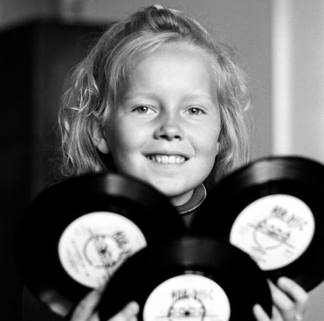 HITPARADE: Anita Hegerland da karrieren hennes skjøt fart mens hun fortsatt var et barn. FOTO: NTBScanpix