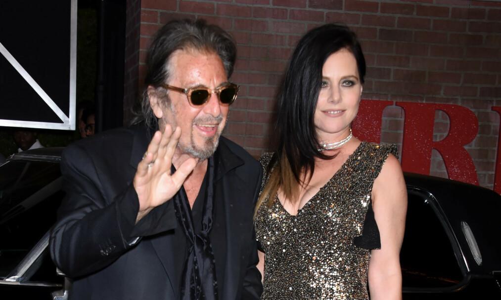 <strong>SLUTT:</strong> Al Pacino skal være en singel mann igjen etter at det nylig ble slutt mellom ham og skuespilleren Meital Dohan. Foto: NTB Scanpix
