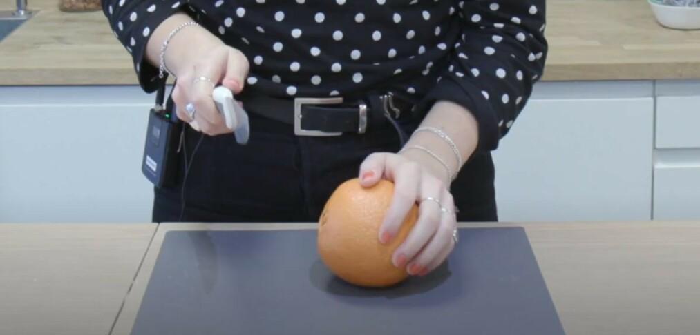 Appelsintriks: funker det?