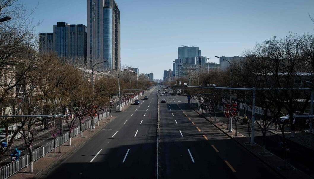 Viruset senker Kinas klimautslipp