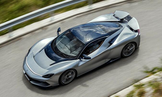 SÆREGEN: En bil som dette må skille seg ut. Det har de lykkes med. Foto: Pininfarina